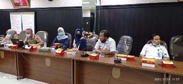 Ekspos Ranperda PDAM Tirta Siak dan Inisiatif P4GN, Pansus I DPRD Pekanbaru Target Ketuk Palu Secepatnya