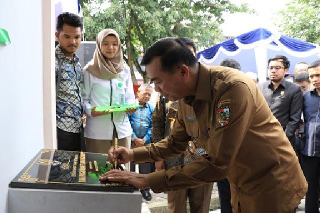 Ketua DPRD Kagumi Pembangunan Rumah Pangan Madani Pekanbaru
